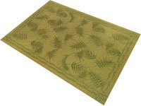Veratex- Bamboo Leaf Rug  24 X 36