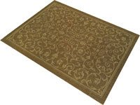 Veratex- Scroll Rug indoor/outdoor 2 X 7.6