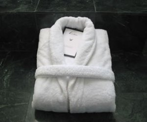 Luxur Linens- 5th Avenue Robe Egyptian Cotton 760gsm Robe