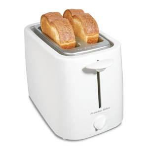 Hamilton Beach Toaster 2-Slice Cool Touch White