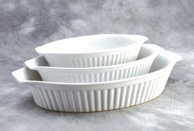 Reco-Oval Baking Set of 3 Oval Baker Choice of colors
