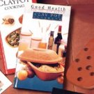 Reco- Romertopf Cookbooks and Accessories The Good Health Claypot Cookbook