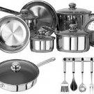 Kinetic-Classicor 19 Piece Cookware Set