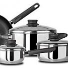 Kinetic-7pc Set with nonstick frypans