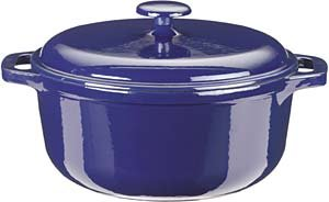Kinetic- Color Cast 5 Quart Dutch Oven - Blue or Red