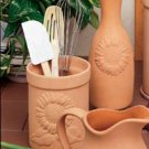 Reco-Romertopf Companion Pieces Utensil Holder - Sunflower