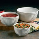 Reco- Bowl Sets Ribbed Bowl Set -Choice of colors