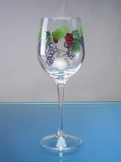 "Bacchus Collection-White Wine  8 1/2""  ( 12 oz) Drinkware set"