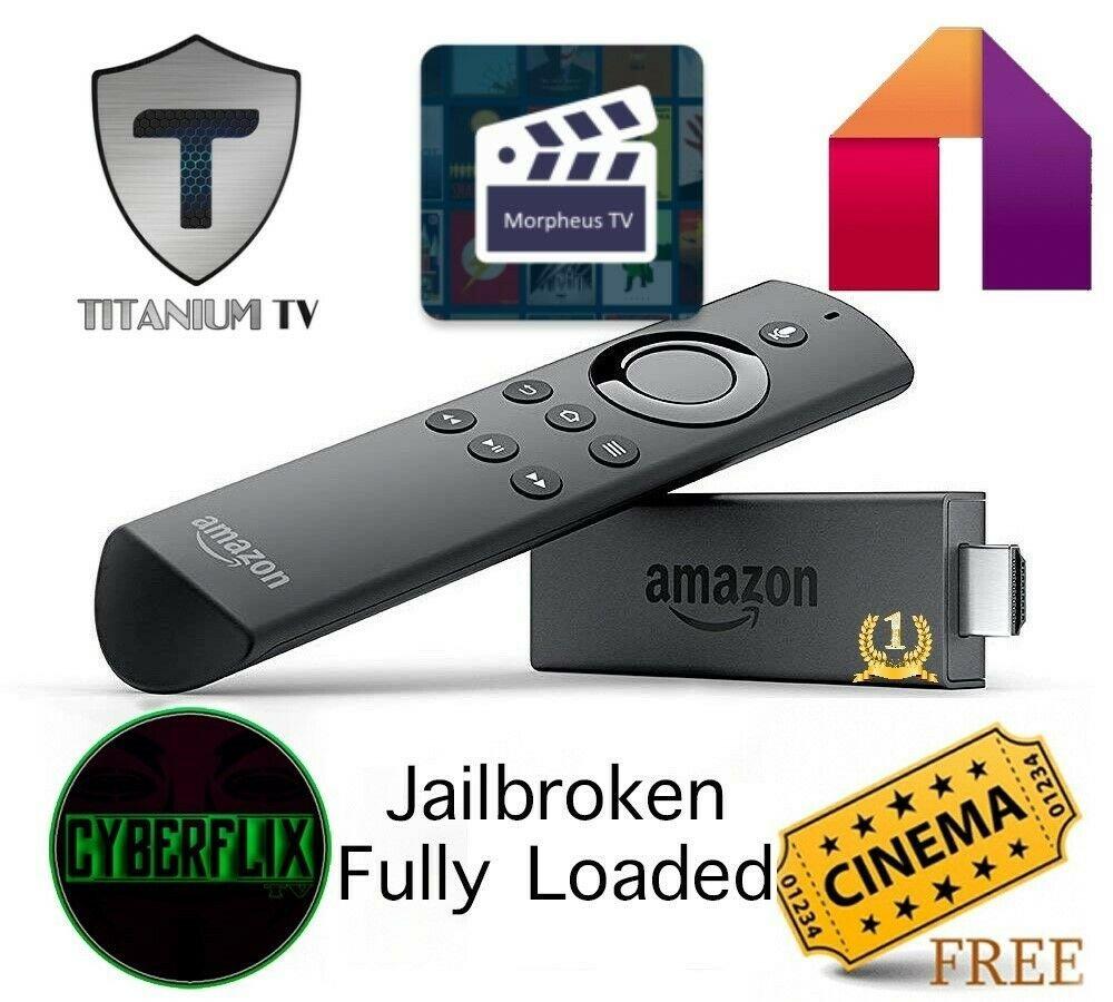 Amazon Fire TV Stick Live Stick Movies Kodi CyberFlix More APPS