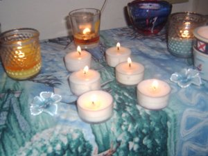 4 pack soy tealights