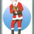 Tuff Stuff Santa Claus Christmas Football Card Rare!