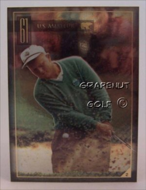 Jack Nicklaus 1961 US Amateur Golf Trading Card #2 Rare