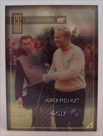 Jack Nicklaus 1966 British Open Golf Trading Card #8