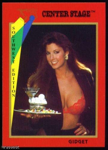 1992 Center Stage Naked Golf Card Gidget #15