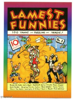 1993 Lamest Funnies Golf Card Hard to find!