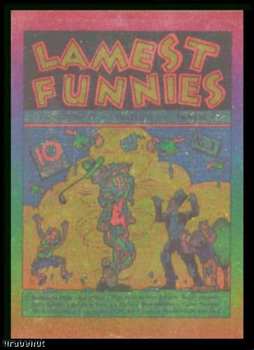 1993 Lamest Funnies SF1 Foil Golf Card Very Scarce!