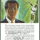 1981 True Value Hardware Arthur Ashe Card Rare!
