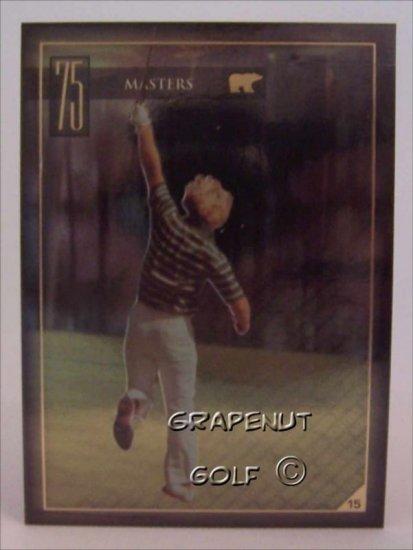 Jack Nicklaus 1975 Masters Golf Trading Card #15 Rare