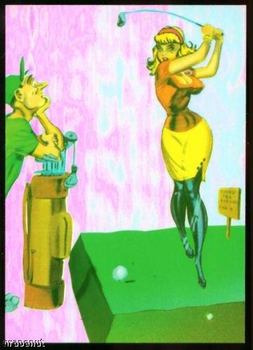 1994 Bill Ward Torchy Omnichrome Golf Insert Card #1