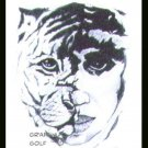 Tiger Woods #5 Kinney Original Art ACEO Golf Card NM