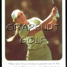 2005 Natalie Gulbis Golf Game Card #5 Hit A Tree