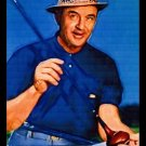 Sam Snead Bally Art Golf Card PGA Portrait Series /18