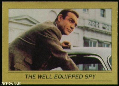 '93 James Bond 007 Eclipse Golf Card #59 Well Equiped