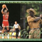 94 Retirement Michael Jordan Golf Basketball Card Gold!