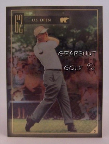 Jack Nicklaus 1962 US Open Golf Trading Card #3 Rare