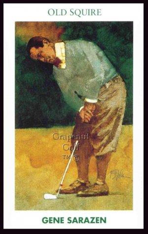 1992 Mueller Golf's Greatest Gene Sarazen Golf Card