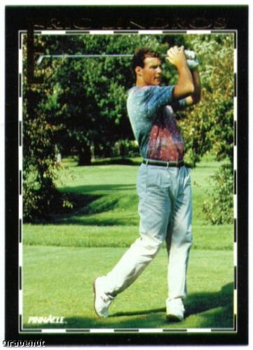1992 Score Eric Lindros Set Golf Road to NHL Card #26