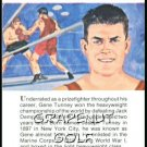 1981 True Value Hardware Gene Tunney Card Rare!
