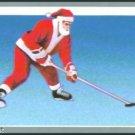 Tuff Stuff Santa Claus Christmas Hockey Card Rare!