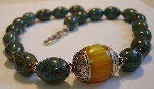 Tibetan Amber Necklace
