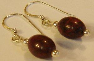 Fall Berries Jasper earrings