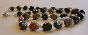 Mixed Jasper Necklace
