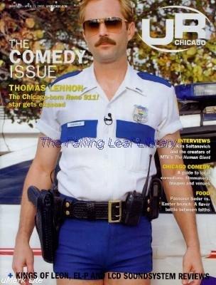 UR CHICAGO MAGAZINE MARCH/APRIL 2007 THOMAS LENNON LT. DANGLE RENO 911! BRIGHT EYES CONCERT AD !