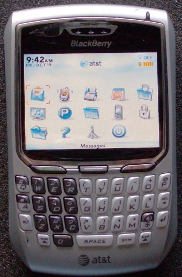 Used Blackberry 8700 PDA Cell Phone for ATT