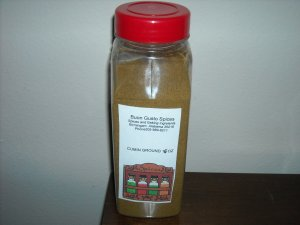 cumin  ground 16 oz jar  $11.99--spices seasonings & herbs