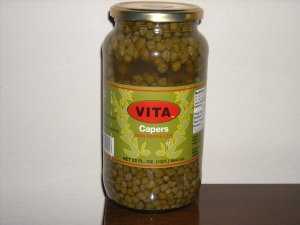 capers non pareilles 32 oz jars 4 per case $47.99 Free shipping to US