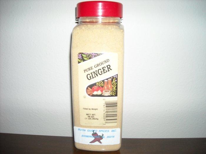 ginger ground 16 oz jar  $11.99  Free shipping