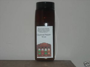 Cayenne Pepper 16 oz jar $11.99--spices seasonings & herbs