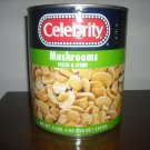 Mushrooms Pieces & Stems 4.4 Pound for Cans (Pack of 2)