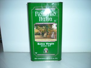 Extra Virgin Olive Oil Romano 1 Gallon 3 lt 2 per case $54.95