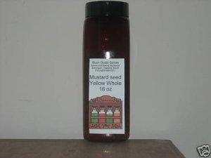 mustard seed yellow whole 16 oz JAR  $11.99 --spices seasonings & herbs