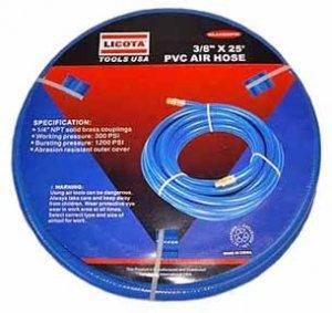 25 Ft PVC Air Hose - Blue