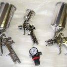 4 Pcs HVLP Spray Gun Kit