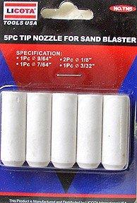 5 Pcs Tip Nozzle For Air Sand Blaster - LICOTA