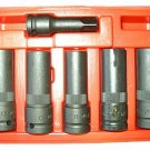6 Pcs Thinwall Deep Impact Socket Set