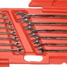 14 Pcs High Polished Combination Wrench - Metric